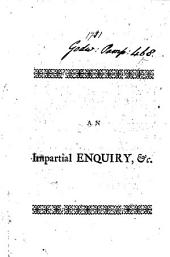 An impartial enquiry into the state and utility of the province of Georgia [by B. Martyn].