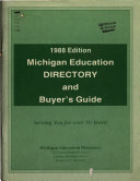 Michigan Education Directory and Buyer s Guide PDF