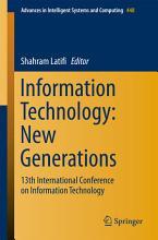 Information Technology  New Generations PDF