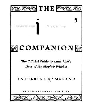 The Witches  Companion