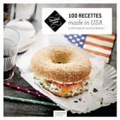 100 recettes made in USA: et 100 listes de courses à flasher !