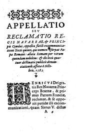 P. Sixti V fulmen brutum in Henricum regem Navarrae, et Henricum Borbonium, principem olim Condaeum, evibratum