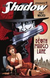 Shadow: The Death Of Margo Lane #1