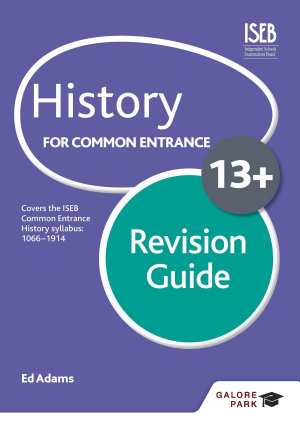 History for Common Entrance 13  Revision Guide PDF