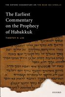 The Earliest Commentary on the Prophecy of Habakkuk PDF