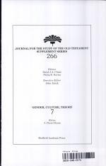 Biblical Studies/Cultural Studies