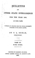 Bulletins and Other State Intelligence PDF