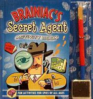 Brainiac s Secret Agent Activity Book PDF