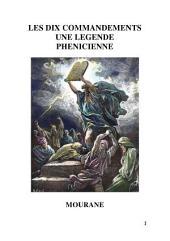 Les Dix Commandements Une Legende Phenicienne
