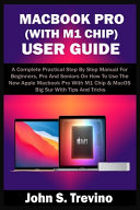 Macbook Pro (with M1 Chip) User Guide