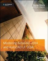 Mastering AutoCAD 2014 and AutoCAD LT 2014 PDF