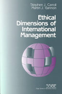 Ethical Dimensions of International Management PDF