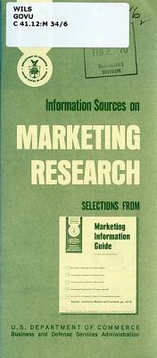 Information Sources on Marketing Research