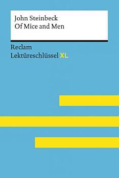 Of Mice and Men von John Steinbeck  Reclam Lekt  reschl  ssel XL PDF