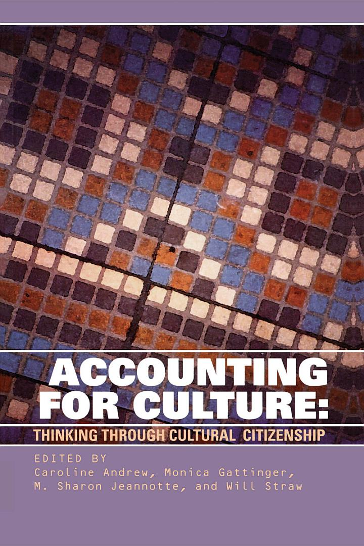 Accounting for Culture