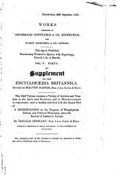 The Edinburgh Philosophical Journal: Volume 5, Part 2, Issue 10