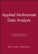Applied Multivariate Data Analysis PDF