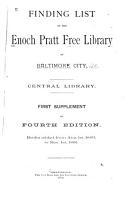 Finding List PDF