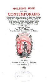 Molière jugé par ses contemporains