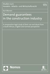 Demand guarantees in the construction industry PDF