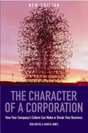 The Character of a Corporation PDF