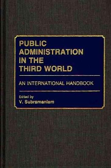 Public Administration in the Third World PDF