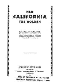 New California the Golden PDF