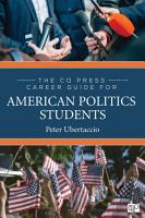 The CQ Press Career Guide for American Politics Students PDF
