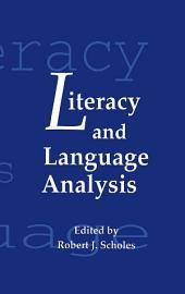 Literacy and Language Analysis