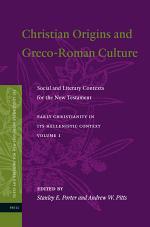 Christian Origins and Greco-Roman Culture