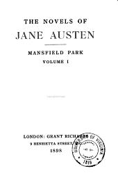 The Novels of Jane Austen: Volume 5