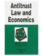 Antitrust Law and Economics in a Nutshell: Edition 5