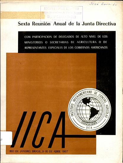 Sexta Reunion Anual de la Junta Directiva PDF