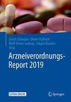 Arzneiverordnungs Report 2019 PDF