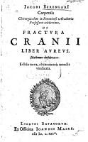 Tractatus de fractura calue siue cranei  With woodcuts PDF