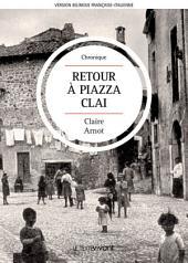 Retour à Piazza Clai   Ritorno a Piazza Clai: Roman autobiographique