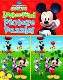 Mickey Mouse Clubhouse Look and Find Picture Puzzles Mickey Mouse PDF