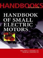 Handbook of Small Electric Motors PDF