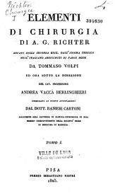 Elementi di Chirugia recati dall'idioma tedesco nell'italiano: arricchiti di varie note