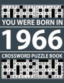 Crossword Puzzle Book-You Were Born In 1966