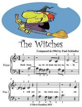 The Witches - Beginner Tots Piano Sheet Music