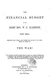 The Financial Budget ... for 1854