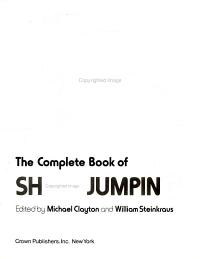 The Complete book of show jumping PDF