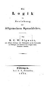 Handbuch zu Vorlesungen über die Logik