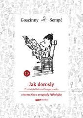 Jak dorosły z tomu Nowe przygody Mikołajka. Minibook