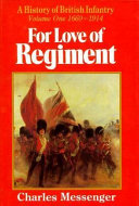 For Love of Regiment  1915 1994