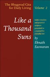 Like a Thousand Suns: The Bhagavad Gita for Daily Living, Volume II