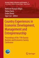 Country Experiences in Economic Development  Management and Entrepreneurship PDF