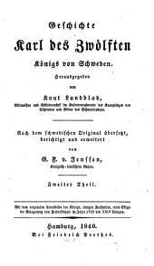 Geschichte Karl des Zwölften, Königs von Schweden: Band 2