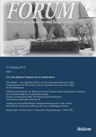 Forum f  r osteurop  ische Ideen  und Zeitgeschichte PDF